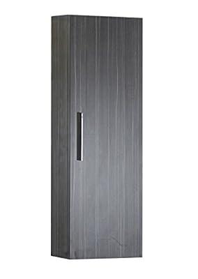 American Imaginations AI-4-1355 Modern Plywood-Melamine Medicine Cabinet, 12-Inch x 36-Inch, Dawn Grey Finish