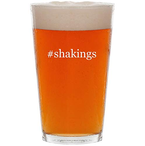 #shakings - 16oz Hashtag Pint Beer Glass