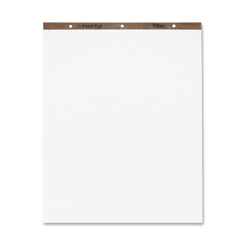 TOPS Easel Pad, 27 x 35 Inch, 3-Hole Punched, 50 Sheets, White (79011) by TOPS
