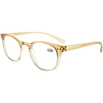 fe5da5d4217 Amazon.com  Eyekepper Fashion Readers Womens Reading Glasses (Brown ...