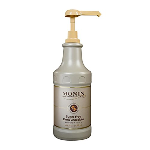 Monin Dark Chocolate Sauce Sugar Free