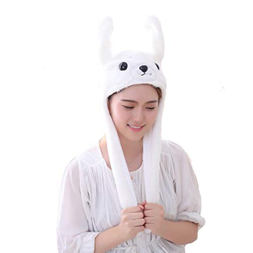 Debbieicy Lovely Costume Props Plush Bunny Hat Cute Animal with Movable Ears-Ideal Gift for Party and Celebrations (Sea Lion)