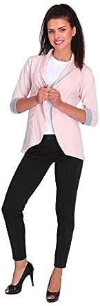 FUTURO FASHION/® con Bolsillos y Mangas de 3//4-2501 Chaqueta Tipo Blazer para Mujer