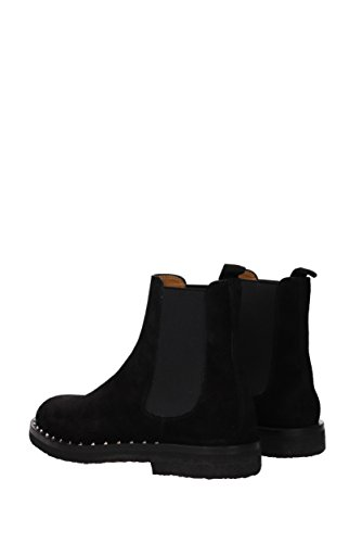 Valentino Ankle Boots Mannen - Suede (0s0a38zfk) Eu Zwart