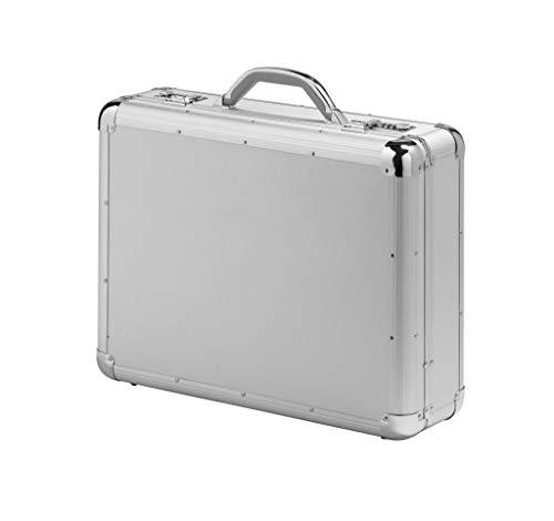 Falcon International Bags Aluminium Attache Case Silber - Gerätekoffer/-Taschen (Silber, Aluminium, 470 mm, 150 mm, 360 mm, 2,5 kg)