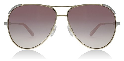 Chloe CE118S 709 Light Gold / Peach Eria Aviator Sunglasses Lens Category 3 - Aviator Chloe Sunglasses