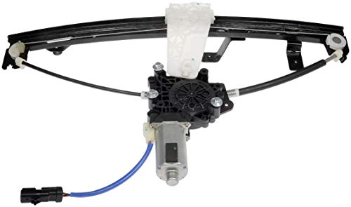 Dorman Front Left Window - Dorman 741-556 Front Driver Side Power Window Regulator and Motor Assembly for Select Jeep Models