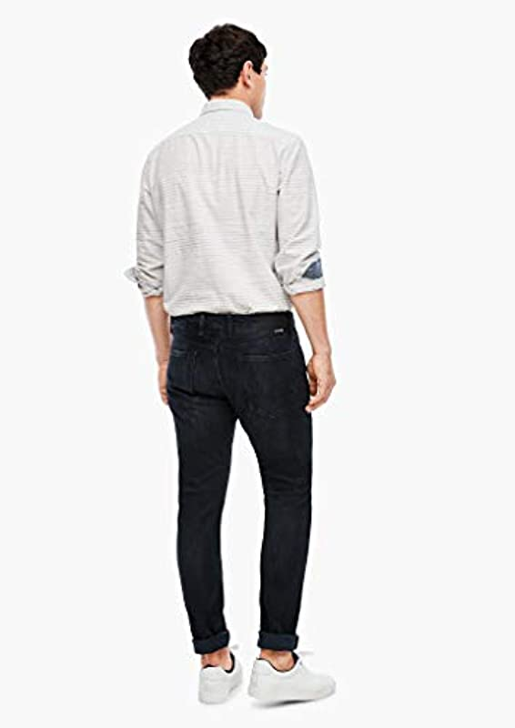 s.Oliver Męskie Slim Fit: Slim Leg-Stretchjeans: s.Oliver: Odzież