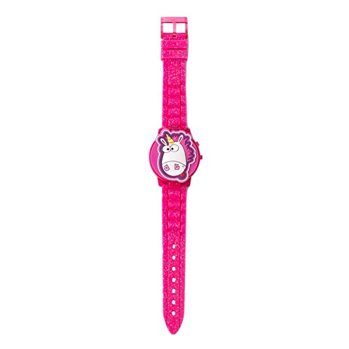 Price comparison product image Despicable Me 3 Unicorn Watch for Girls LCD Flip Style