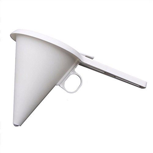 Lautechco Adjustable Chocolate Funnel for Baking Cake Decorating Tools Easy Operating Candy Funnel