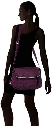 Kipling Garan, Sacs à bandoulière femme, 35x25.5x17 cm Alto (prune violette)