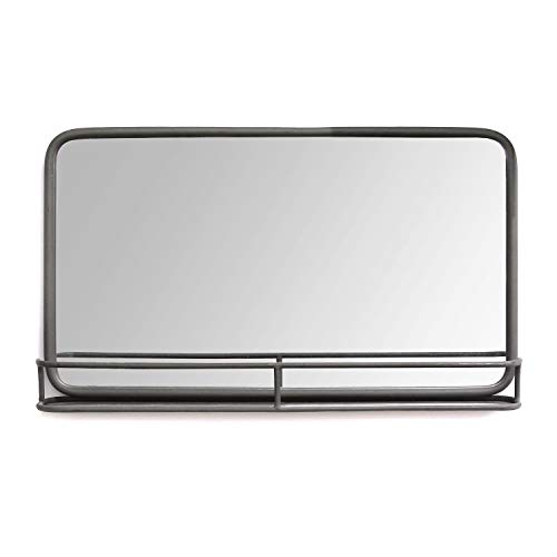 Stratton Home Decor Mason Metal Mirror with -