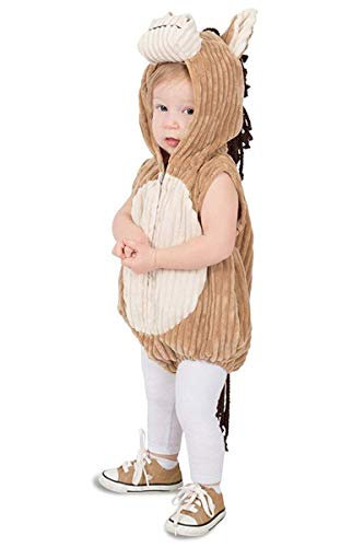 Princess Paradise Toddler Charlie The Corduroy Horse Costume 2T ()