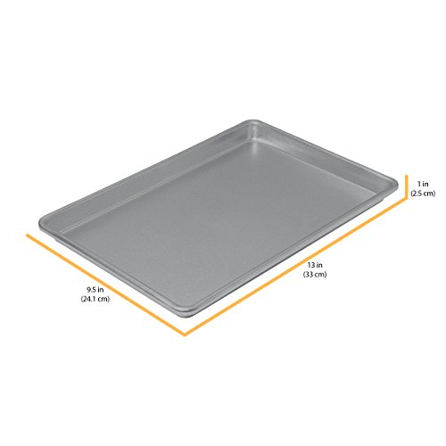 Chicago Metallic Commercial II Non-Stick Small Jelly Roll Pan, 13 by 9.5-Inch by Chicago Metallic (Image #5)