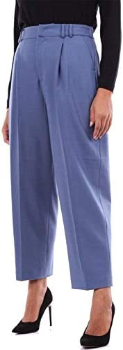 PT01 Luxury Fashion Femme GC05VSDAZ00STDAVION Bleu Polyester Pantalon | Saison Outlet