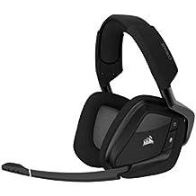 Corsair VOID RGB Elite Wireless Premium Gaming Headset with 7.1 Surround Sound, Carbon (Renewed)