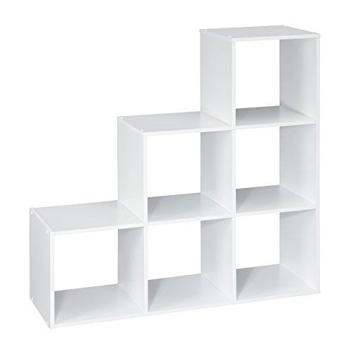 ClosetMaid 1043 Cubeicals Organizer, 3-2-1 Cube, White (Closet 1)