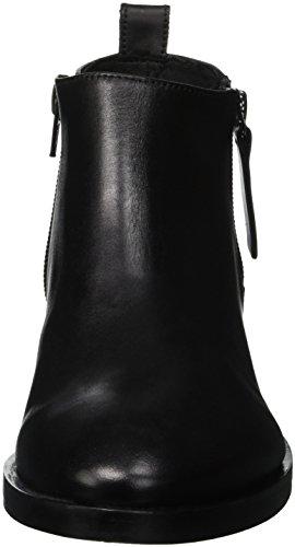 Botines F Mujer Geox para Brogue Black C9999 Donna qtEpFT