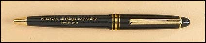 US Gifts with God All Things are Possible Pen - 50/pk