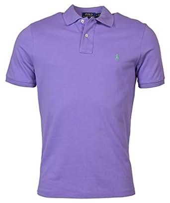 POLO RALPH LAUREN Mens 710670136006 Button-Front - Purple - XX-Large