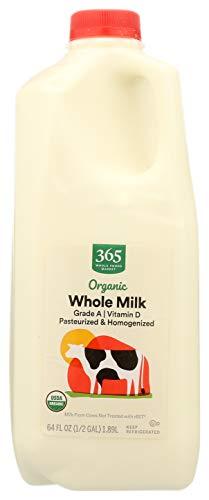 365 by Whole Foods Market, Organic Grade A Milk, Whole, 64 Fl Oz