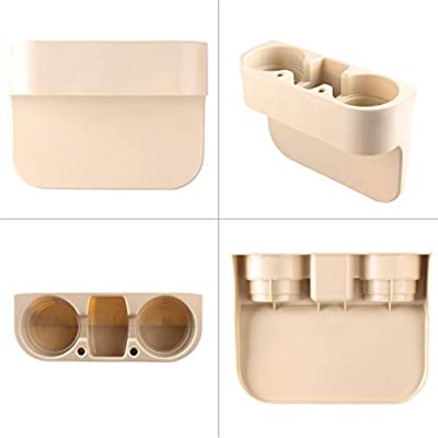 Car Cup Holder Organizer, Cup Holder for Car, Auto Cup Holders for Car, Car Seat Cup Holder, Car Cup Holders Cupholder for Cars, Beige: Automotive