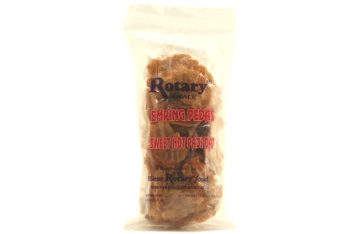 Oat Padi (Emping Pedas (Sweet Hot Padi Oats) - 5oz [pack of 6])
