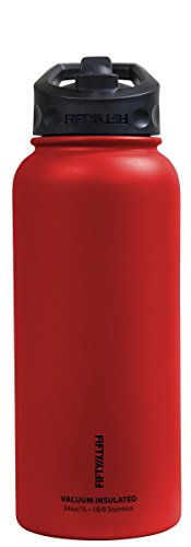 fifty-fifty-v34002rd0-34oz-red-vacuum-insulated-bottle-1-pack