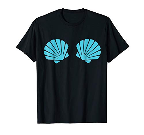 Seashell Bra Shirt - Mermaid Shirt ()