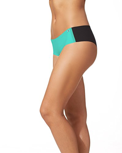 New Balance Womens Laser Hipster Panty, Reef Green, - Hipster Panty Green