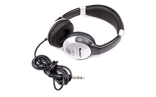 Numark HF125 | Ultra-Portable Professional DJ Headphones With 6ft Cable, 40mm Drivers for Extended Response & Closed…