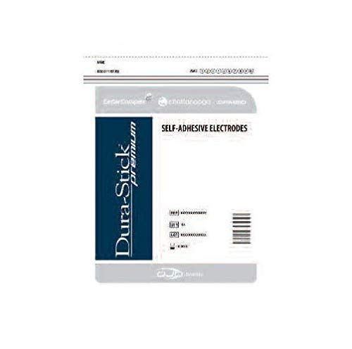 Dura-Stick Supreme Electrodes, Square Blue Gel, 2