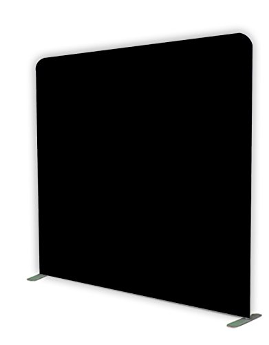 Glide Gear 8x8 Gaming Photography Video Green Screen Wrinkle Free Backdrop 4X Colors: Black/Blue/Green Chromakey/White with Collapsible Stand by Glide Gear (Image #5)