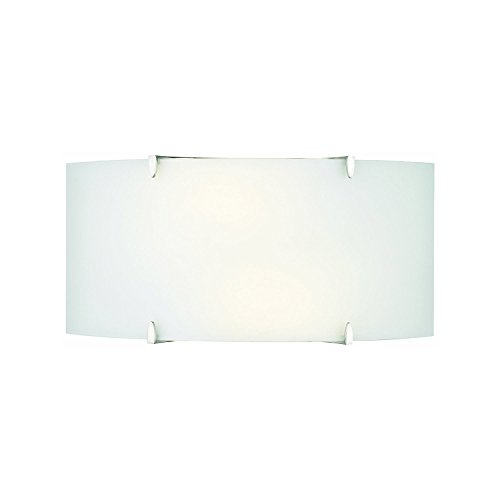 Philips Forecast F540436 Edgebow Bath Light, Satin Nickel (Three Wall Mount Light Ada)