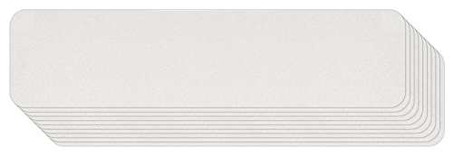 - Jessup 3530-6x24-10 Safety Track Barefoot Friendly, Resilient Non-Slip Safety Tread (Clear, 6-Inch by 24-Inch, Pack of 10) Made in the U.S.A.