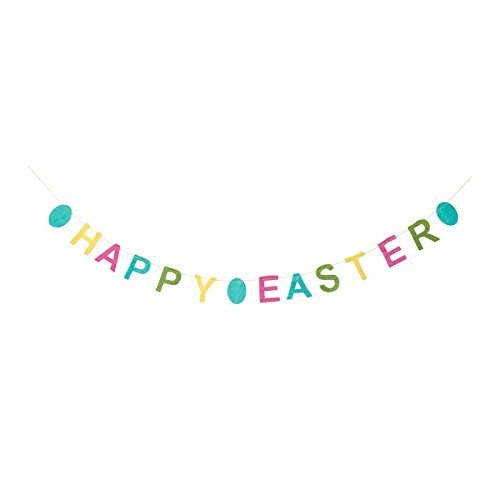 HearthSong 730173 Happy Easter Garland product image
