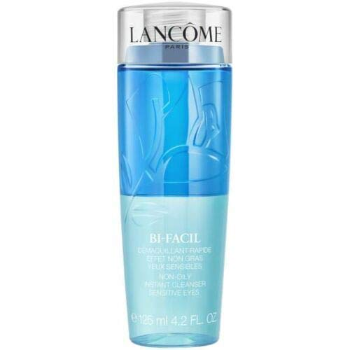 Lancome Bi Facil Non-Oily Instant Eye Makeup Remover for Sensitive Eyes, 4.2 Ounce