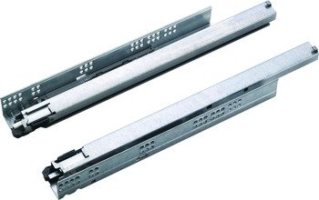 Concealed Undermount Slide - Heavy Duty, Full Extension, 3D Adjustment, 132 lbs., Grass Dynapro, 24
