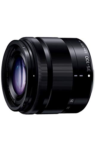 Panasonic Lumix G Vario 35-100 mm f4.0-f5.6 ASPH. MEGA OIS Zoom SLR Telephoto SLR Black Camera Lenses and Filters, Telephoto Zoom Lens Micro Four Thirds; 4 - 5.6, 0.90 m, 12/9
