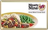 Ninety Nine Restaurants Gift Card