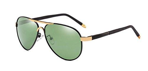 Lennon de retro rond Vert Foncé métallique lunettes inspirées style cercle soleil vintage polarisées du Film en 8xqpYH