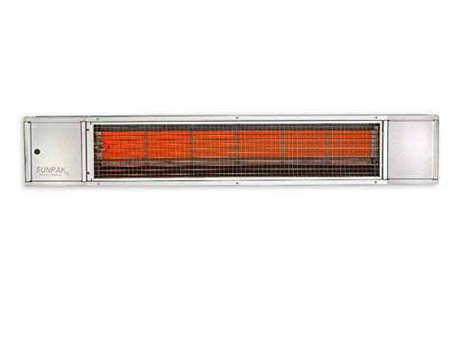 (Sunpak 48-inch 25,000 Btu Natural Gas Infrared Patio Heater - Stainless Steel - S25 S-ng)