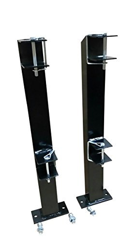 M.G.E. Products Heavy Duty Landscape Trimmer Rack for Edgers, Pole Saws, and Tree Trimmers - 2 Slot