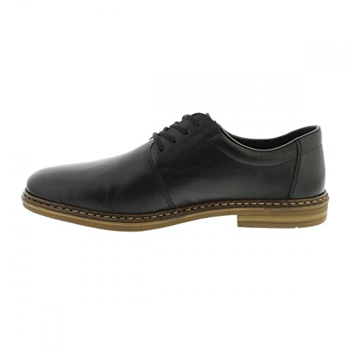 Schuh Smart 0 Schwarz Schnürschuh Men B1440 ES in schwa Leder Rieker nero wztXx4qH0t