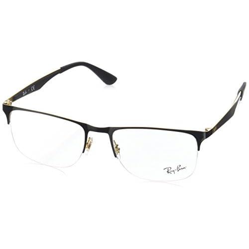 9863e0c4ce En venta Ray-Ban 0Rx6362, Monturas de Gafas para Hombre, Gold/Top ...