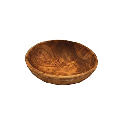 Naturally Med - Olive Wood Dipping Bowl - Round, 3.5 inch