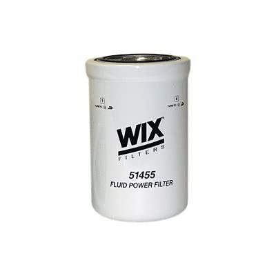 WIX Filters - 51455 Heavy Duty Spin-On Hydraulic Filter, Pack of 1: Automotive [5Bkhe2008453]