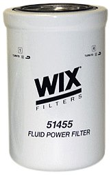 WIX Filters - 51455 Heavy Duty Spin-On Hydraulic Filter, Pack of 1 by Wix