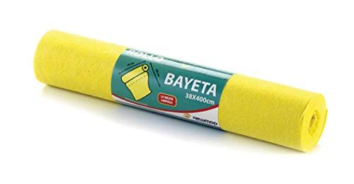Aigua 031 Multifunctionele doek, geel, 4 m x 36 cm, 12 stuks