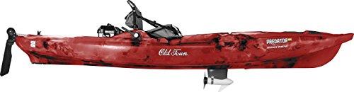 Old Town Predator MK Minn Kota Motorized Fishing Kayak (Black Cherry Camo)